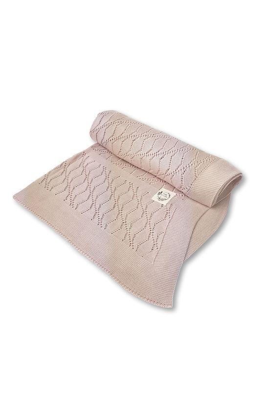 pastelově růžová Jamiks - Kojenecká deka Dětský