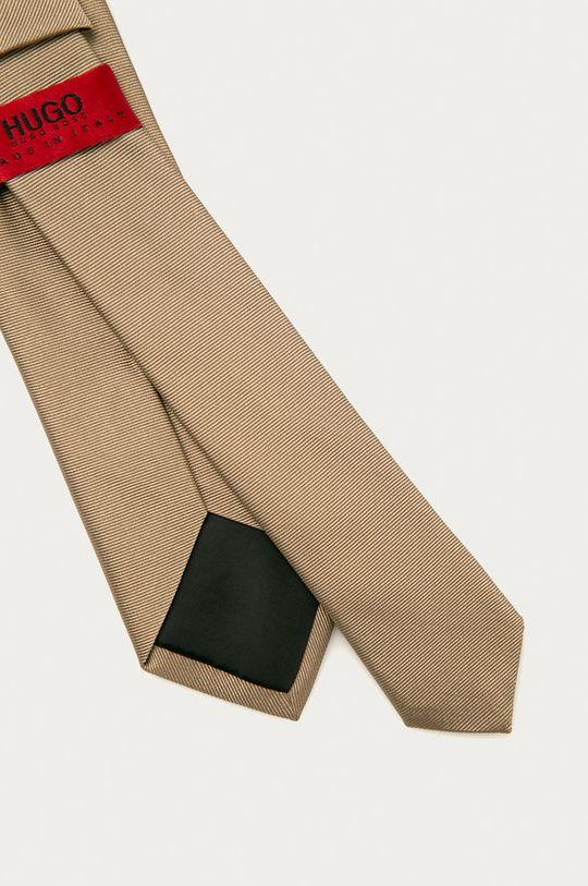 Hugo - Krawat beżowy