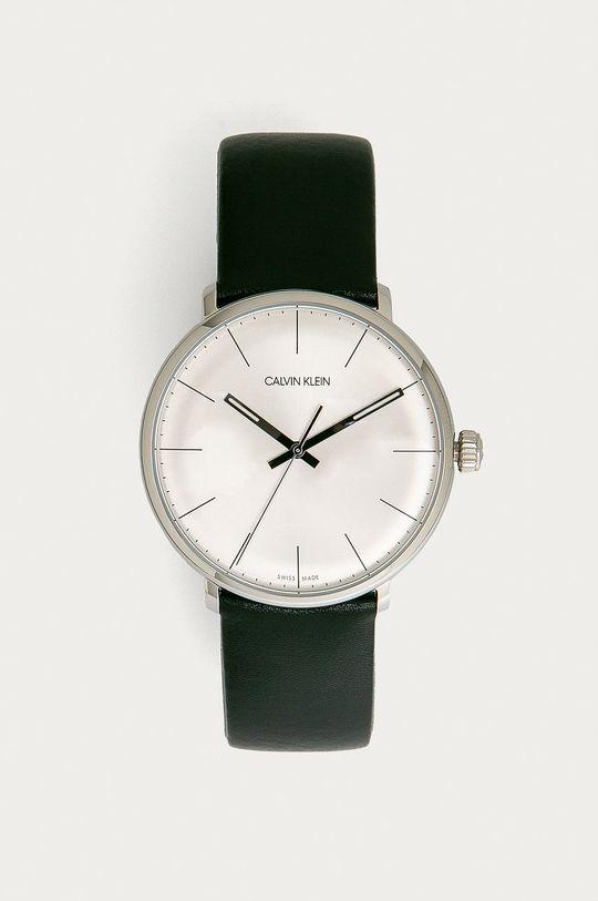 czarny Calvin Klein - Zegarek K8M211C6 Męski