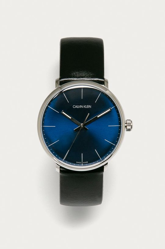 czarny Calvin Klein - Zegarek K8M211CN Męski