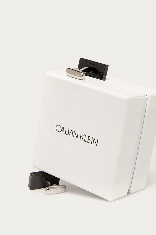 Calvin Klein - Manžetové knoflíčky šedá