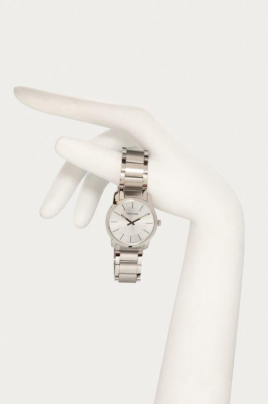 stříbrná Calvin Klein - Hodinky K2G22146 Pánský