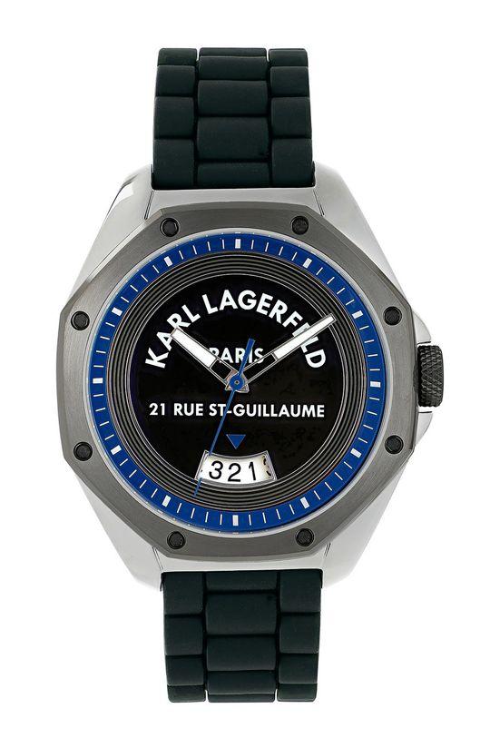 černá Karl Lagerfeld - Hodinky 5552765 Pánský