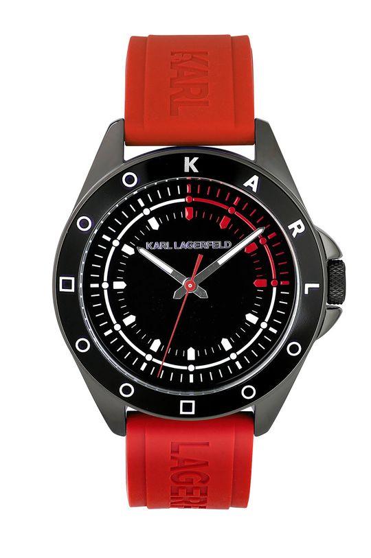 červená Karl Lagerfeld - Hodinky 5552776 Pánský
