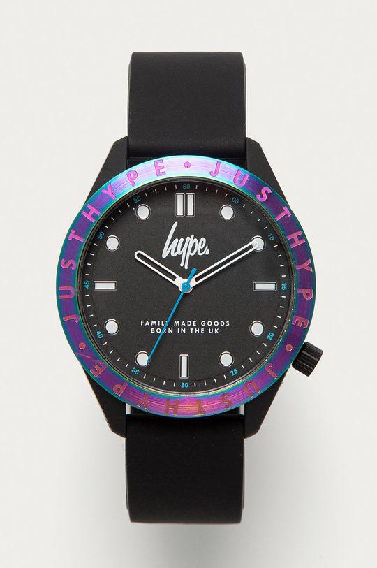 czarny Hype - Zegarek HYG014B Męski