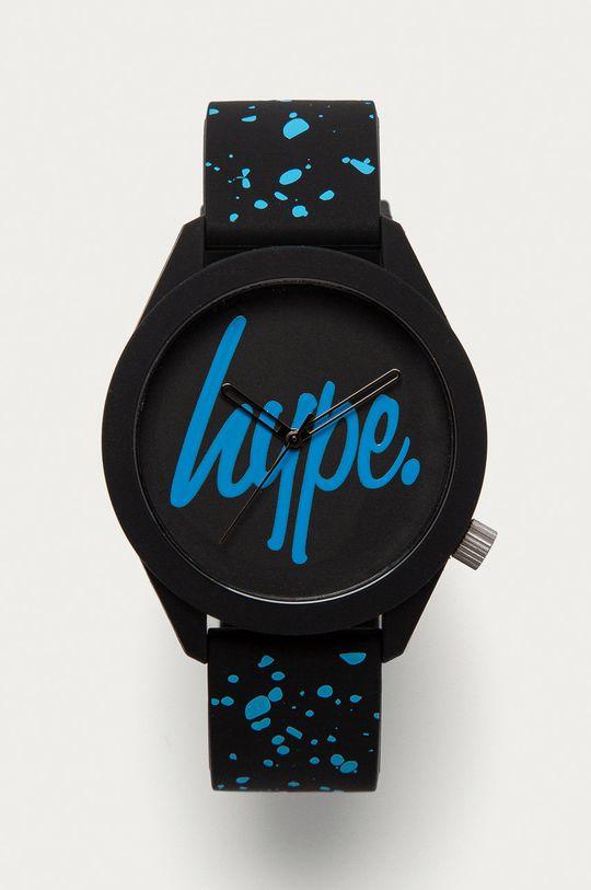 czarny Hype - Zegarek HYG003BU Męski