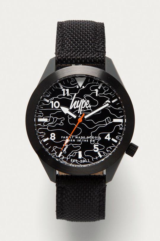czarny Hype - Zegarek HYG016B Męski
