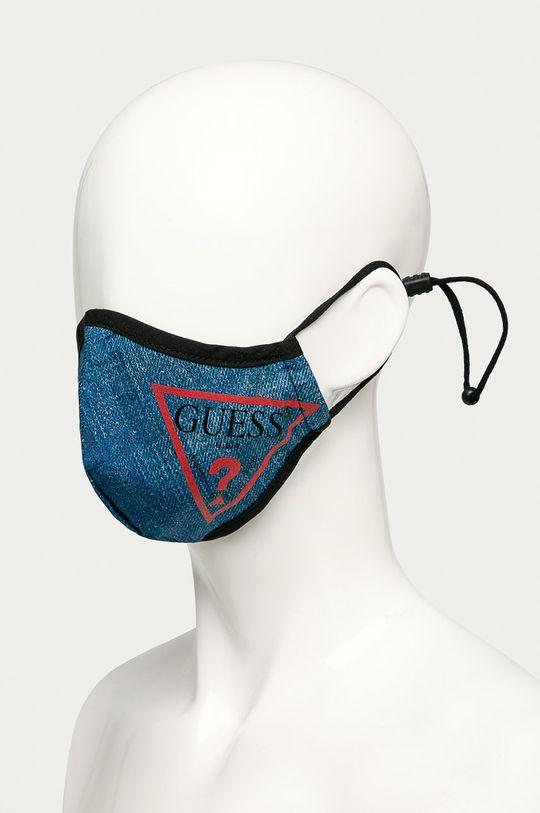 Guess Jeans - Ochranné rúško modrá