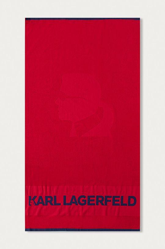 czerwony Karl Lagerfeld - Ręcznik Unisex