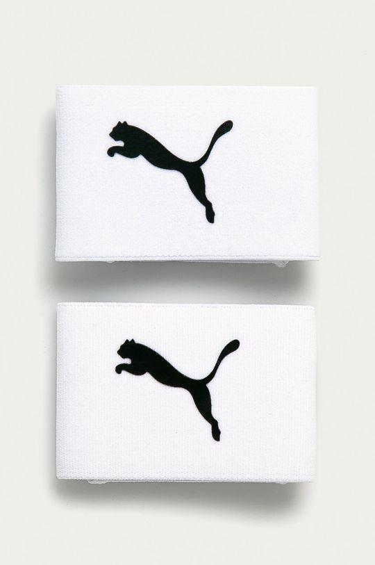 biały Puma - Stopery do skarpet piłkarskich Unisex
