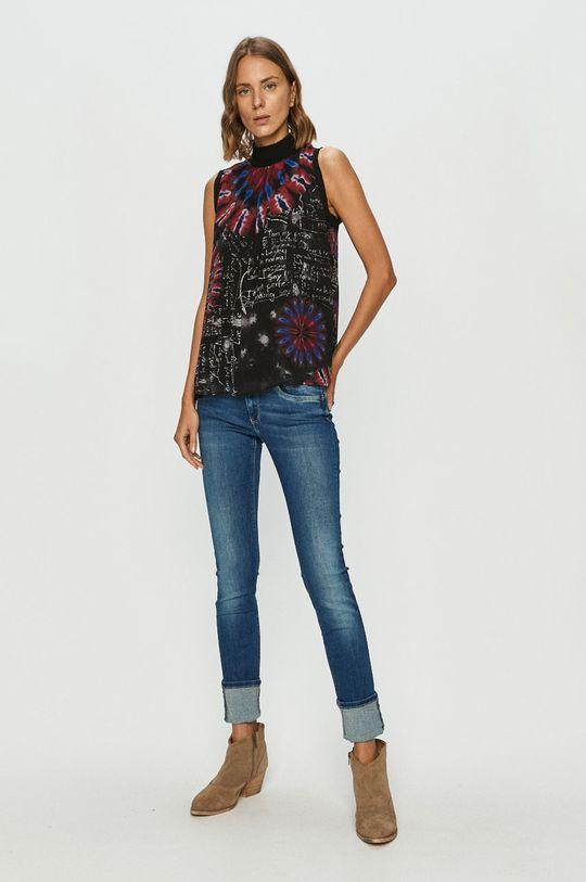 Desigual - Bluza multicolor