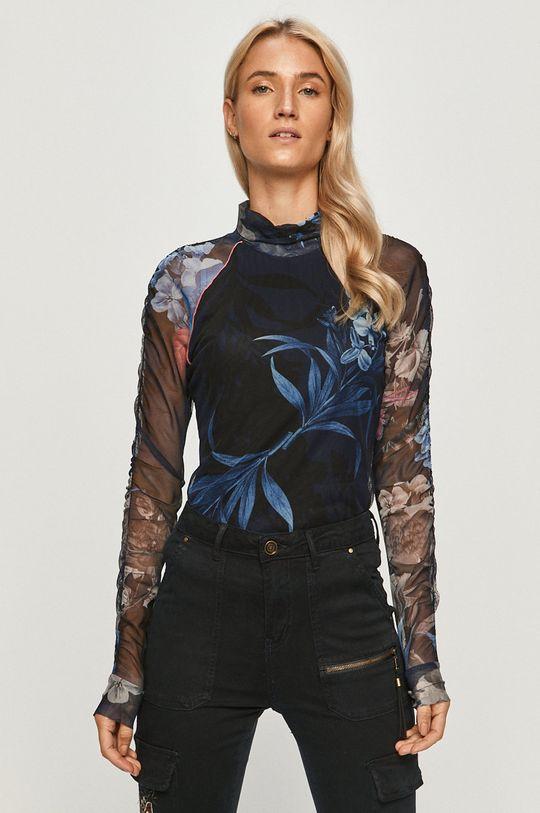 bleumarin Desigual - Bluza 20WWTKCC De femei