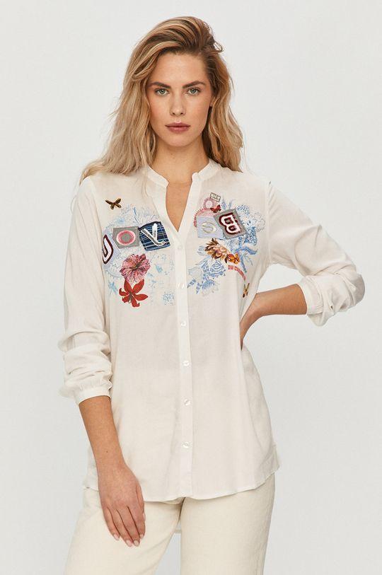 biela Desigual - Košeľa Dámsky