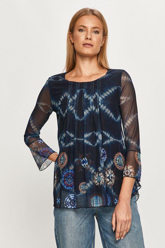 bleumarin Desigual - Bluza De femei