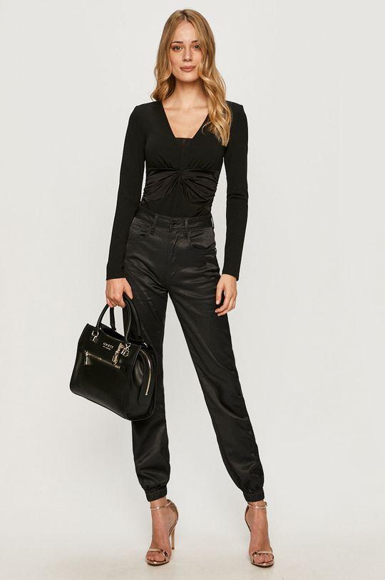 Guess Jeans - Bluzka czarny