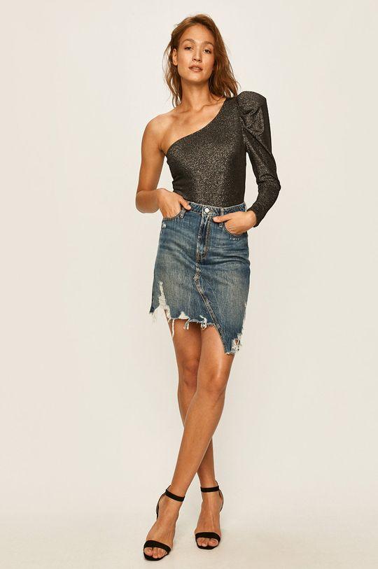 Guess Jeans - Bluza argintiu