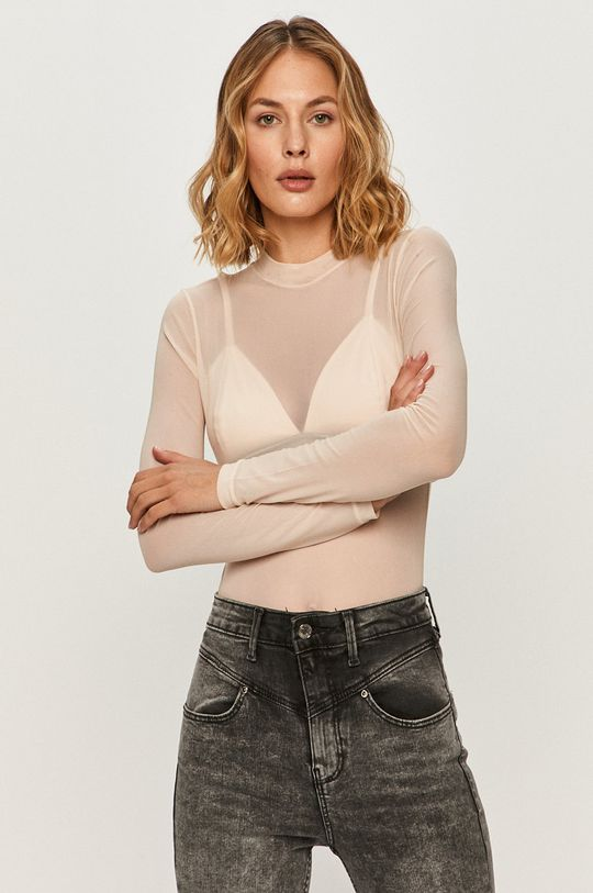 różowy Guess Jeans - Longsleeve Damski