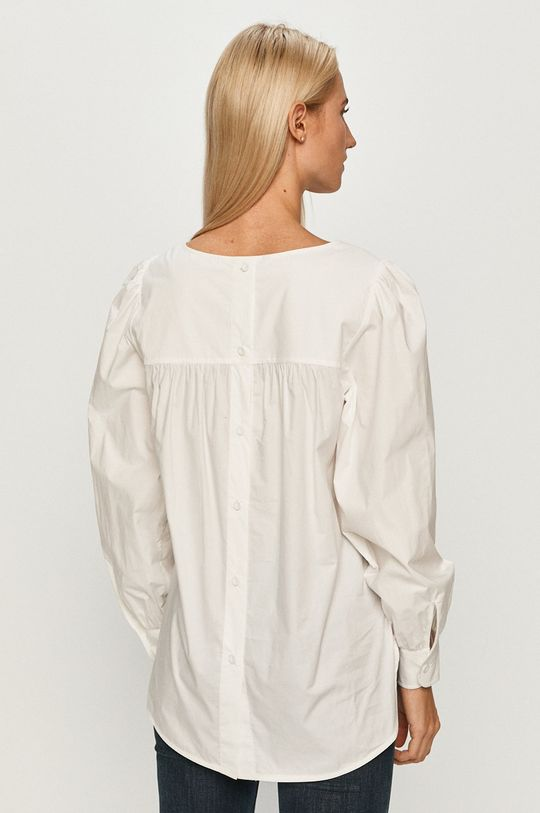 alb Tommy Hilfiger - Bluza de bumbac pentru copii