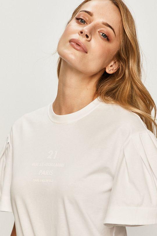 biela Karl Lagerfeld - Tričko