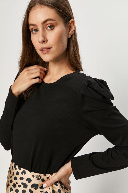 czarny Silvian Heach - Bluzka