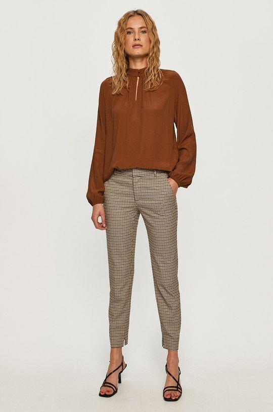 Vero Moda - Bluzka brązowy