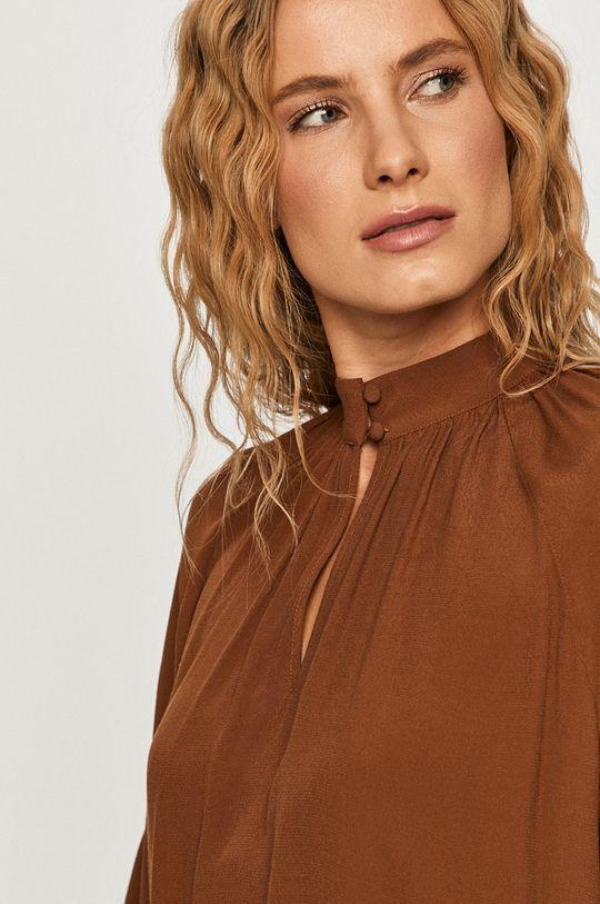 brązowy Vero Moda - Bluzka