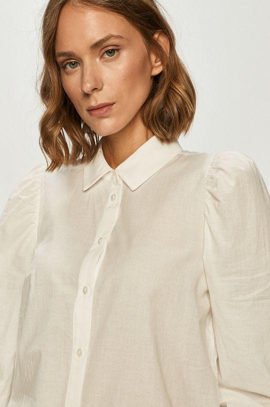 biały Vero Moda - Koszula bawełniana