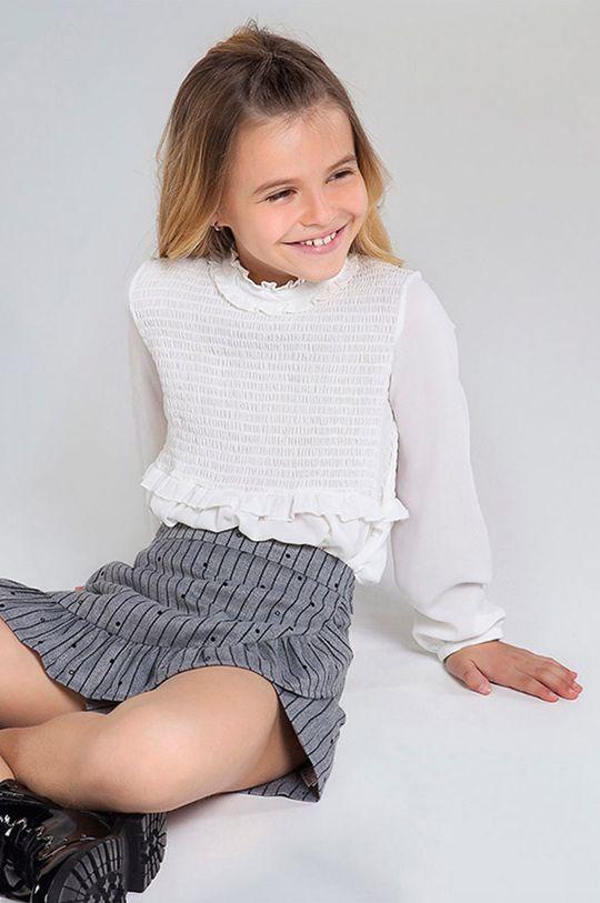 kremowy Mayoral - Bluzka dziecięca 128-167 cm Dziewczęcy