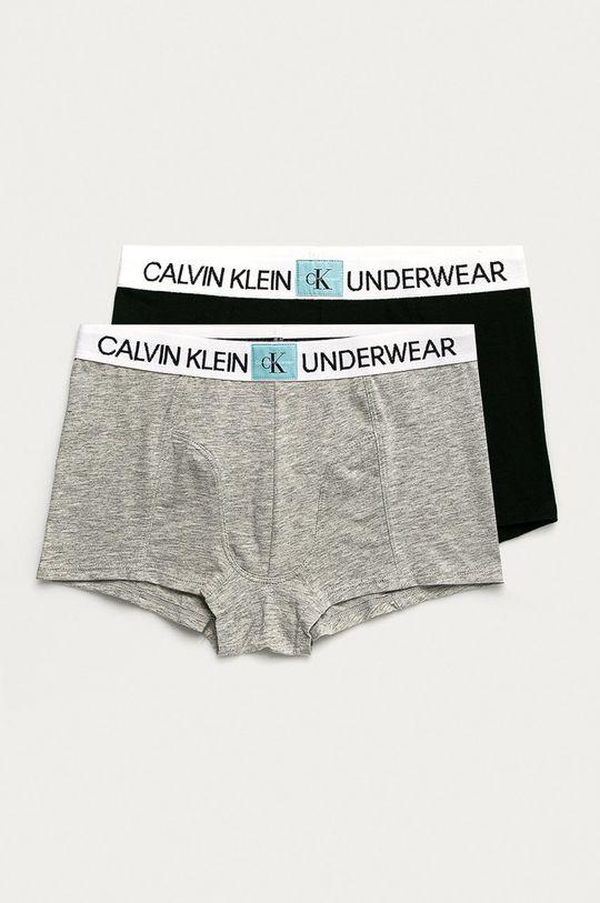 gri deschis Calvin Klein Underwear - Boxeri copii (2-pack) De băieți