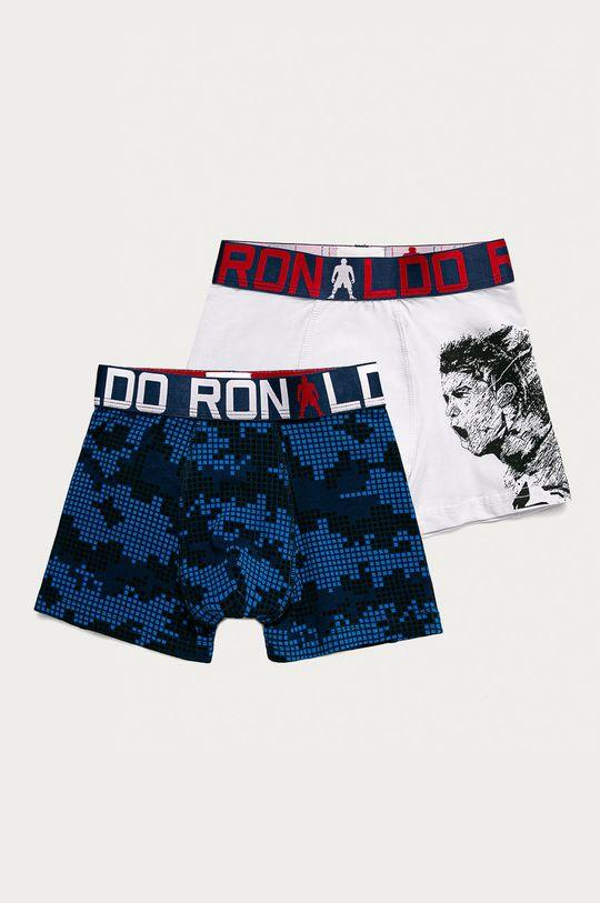 vícebarevná CR7 Cristiano Ronaldo - Dětské boxerky (2-pack) Chlapecký