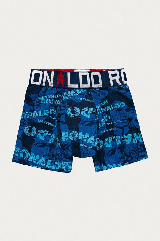 CR7 Cristiano Ronaldo - Dětské boxerky (2-pack) modrá