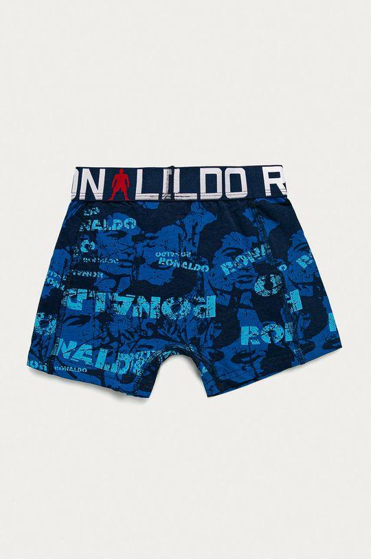 modrá CR7 Cristiano Ronaldo - Dětské boxerky (2-pack)