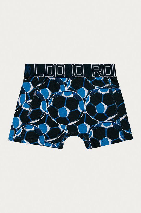 námořnická modř CR7 Cristiano Ronaldo - Dětské boxerky (2-pack)