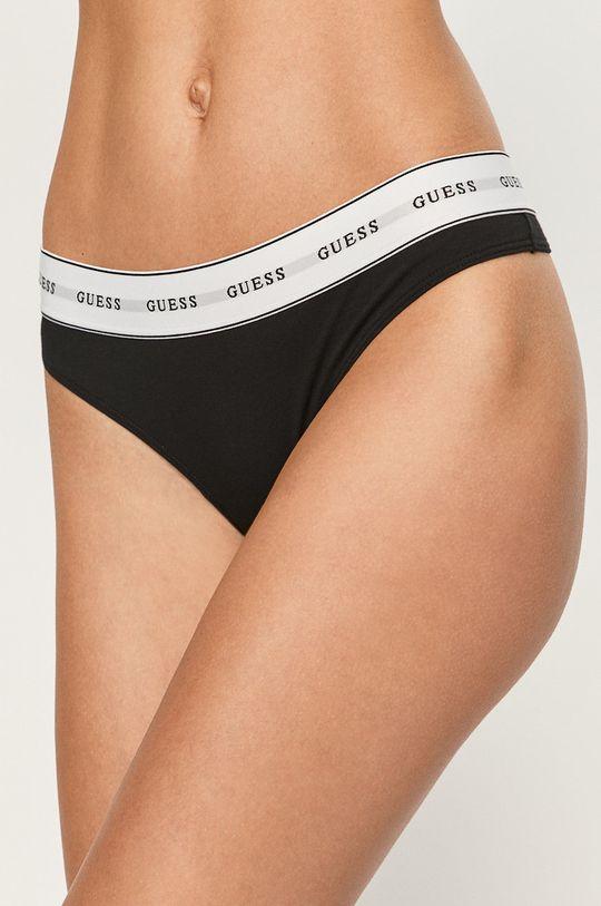 czarny Guess Jeans - Stringi Damski