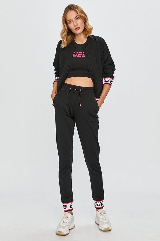 Guess Jeans - Športová podprsenka čierna