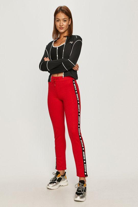 Guess Jeans - Sportovní podprsenka černá