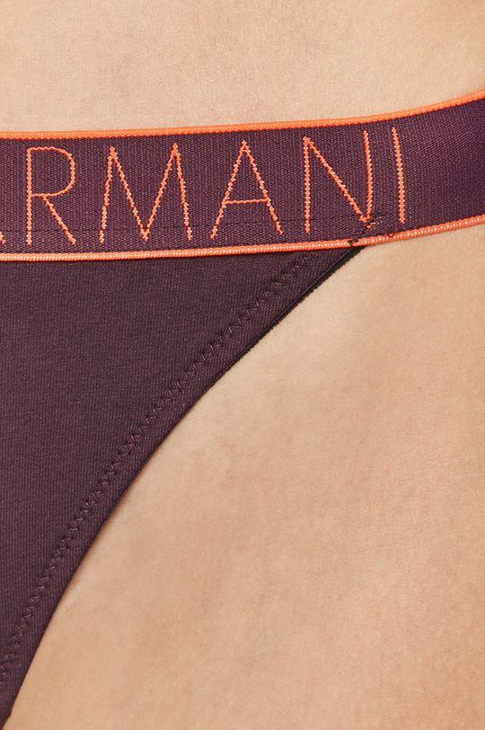 Emporio Armani - Stringi Podszewka: 9 % Elastan, 91 % Poliester, Materiał zasadniczy: 95 % Bawełna, 5 % Elastan