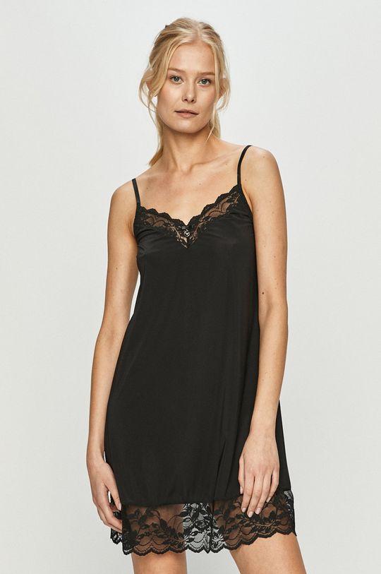 černá Emporio Armani - Noční košile Dámský