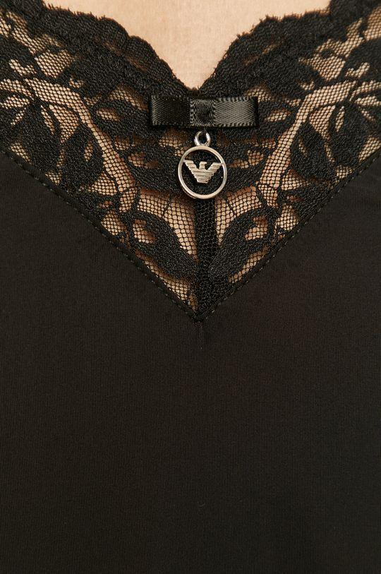 černá Emporio Armani - Noční košile