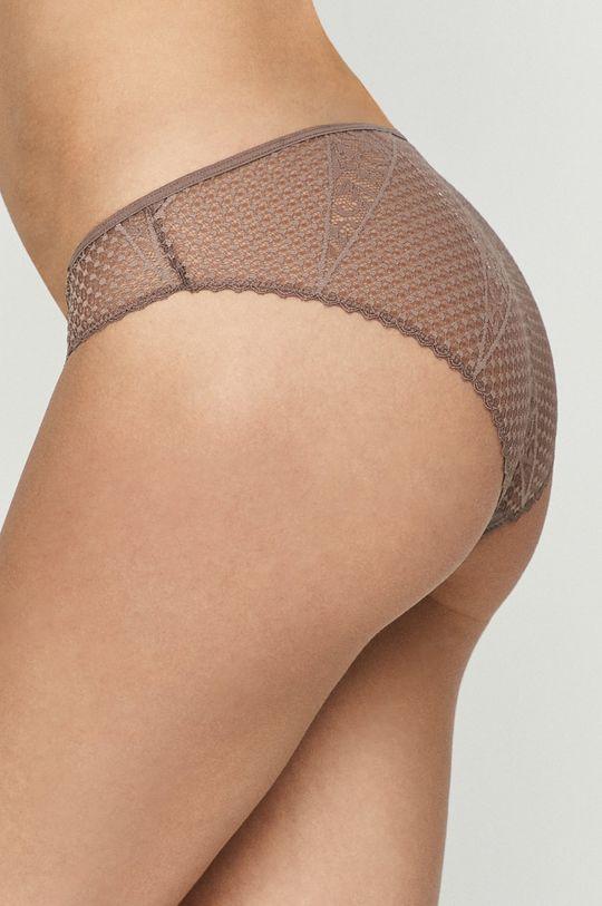 Calvin Klein Underwear - Kalhotky fialovo-růžová