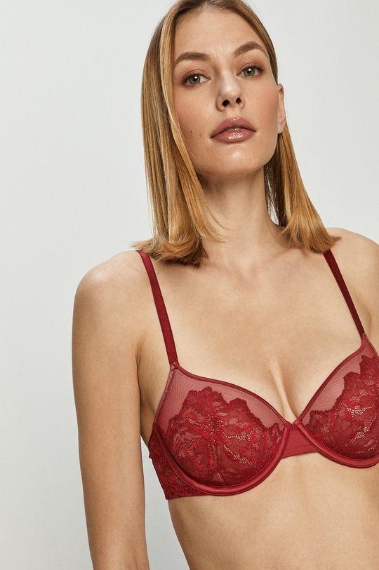 červená Calvin Klein Underwear - Podprsenka Dámsky