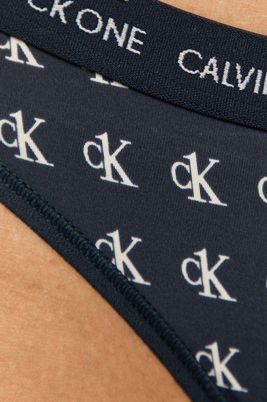 Calvin Klein Underwear - Tanga CK One  Captuseala: 100% Bumbac Materialul de baza: 20% Elastan, 80% Nailon