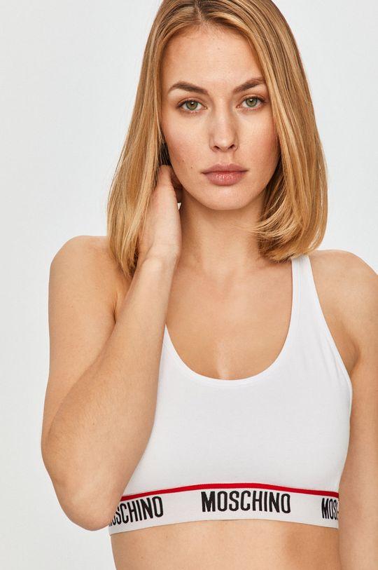 biela Moschino Underwear - Športová podprsenka Dámsky