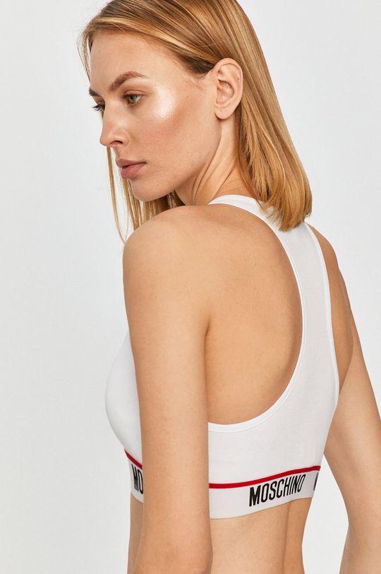 Moschino Underwear - Športová podprsenka biela