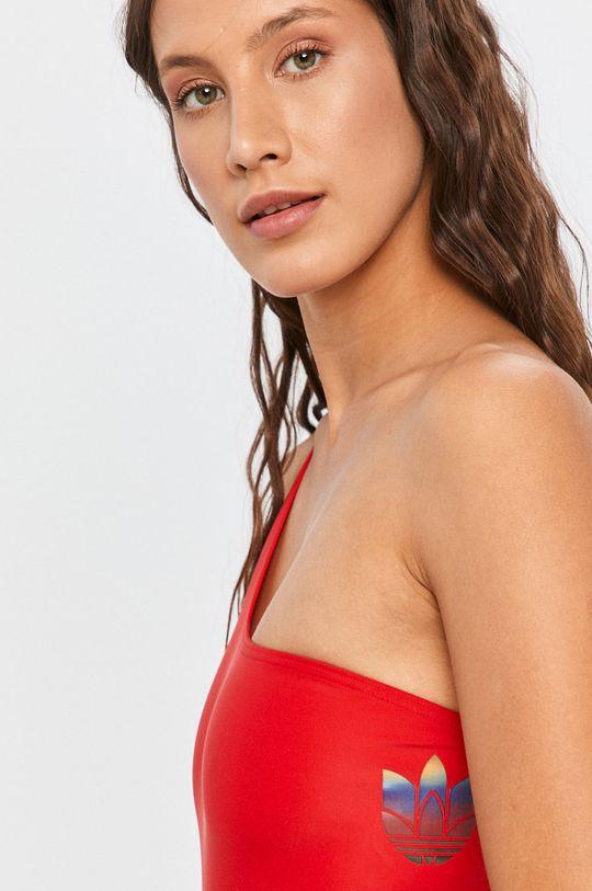 červená adidas Originals - Plavky