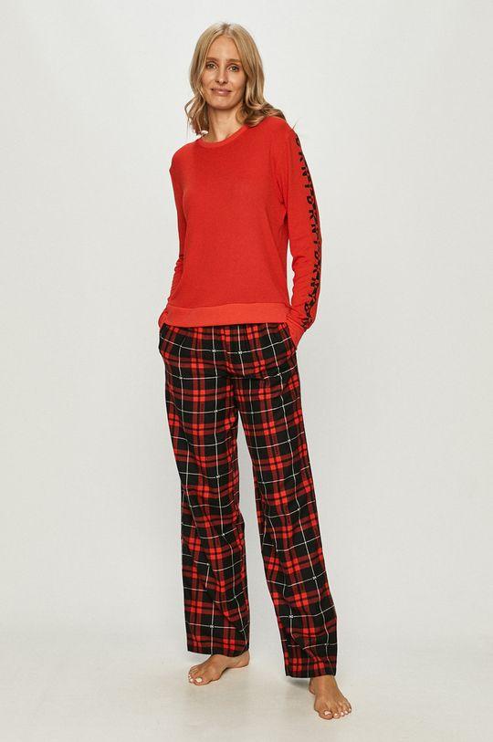 Dkny - Pantaloni de pijama rosu