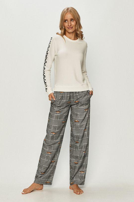 Dkny - Pantaloni de pijama negru