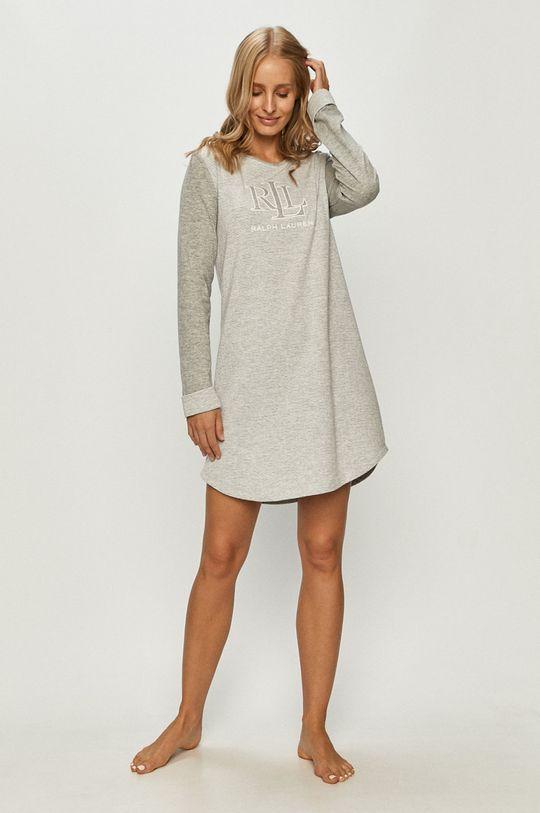 Lauren Ralph Lauren - Nočná košeľa sivá