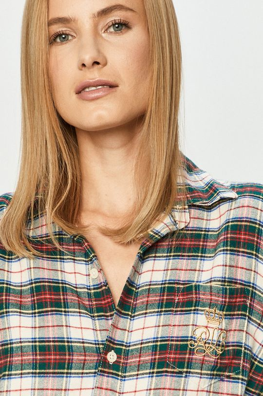 Lauren Ralph Lauren - Noční košilka  55% Bavlna, 45% Viskóza