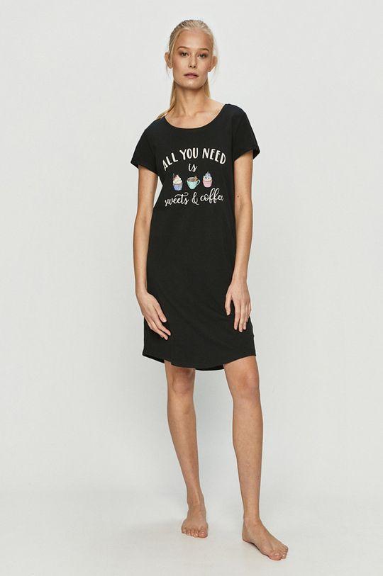černá Henderson Ladies - Noční košilka Dámský